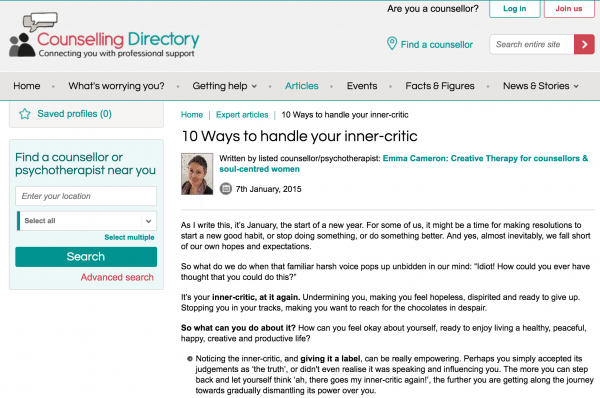 10 Ways to Handle Your Inner-Critic