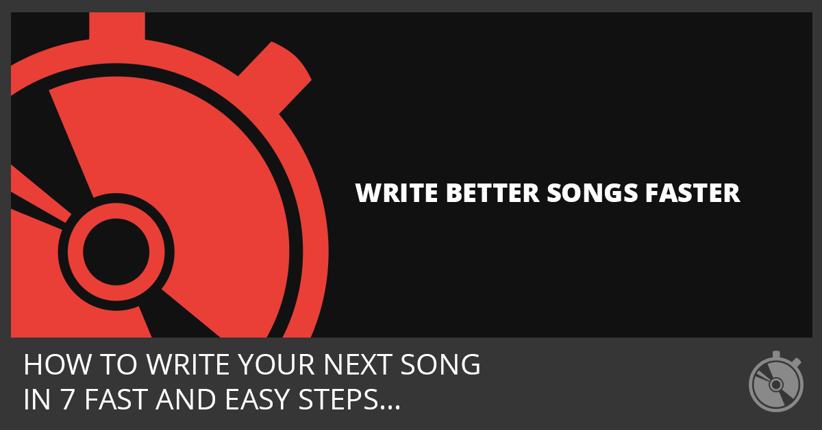 The Speed Songwriting Method