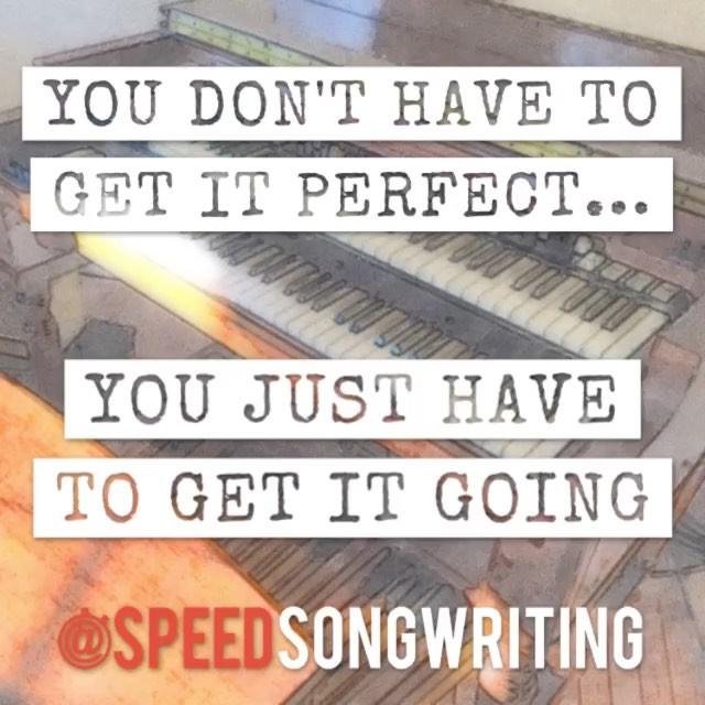 Looking for momentum in your songwriting? Get in motion! 🚀