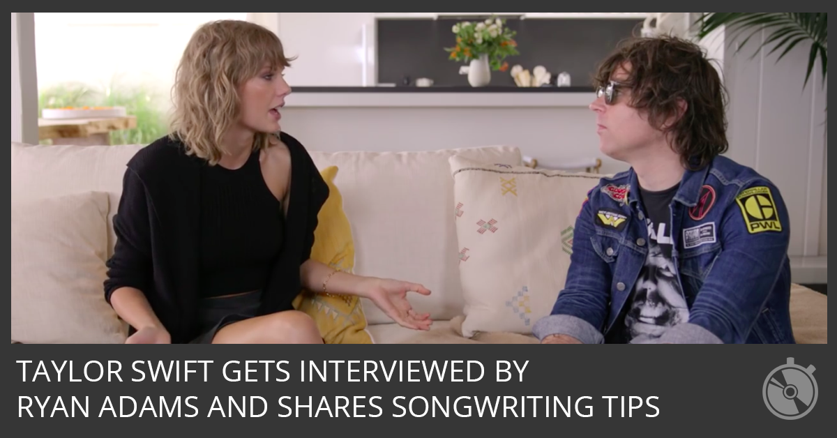 Taylor Swift Gets Interviewed by Ryan Adams