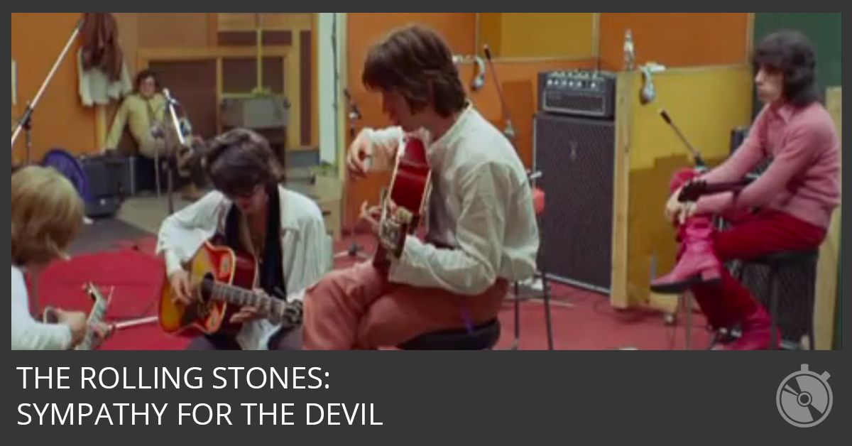 Watch the Rolling Stones Write Sympathy for the Devil